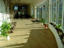 Sanitärgebäude Foyer
