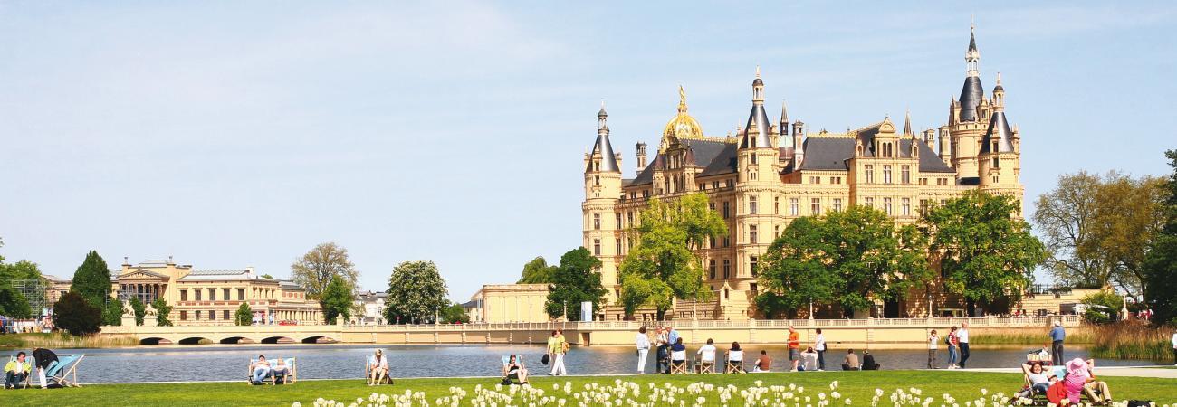 Schweriner Schloss, Ferienpark Seehof, Schwerin