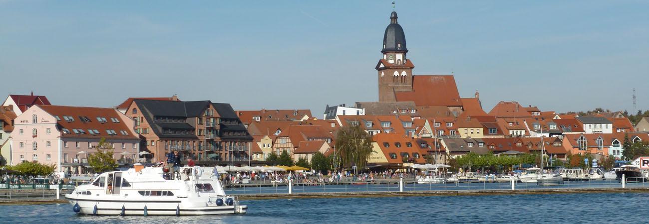 Hafen von Waren (Müritz)