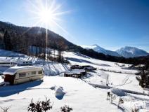 Urlaub mit Kristalleffekt - Wintercamping