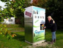 CamperClean - Automat zur Kassenttenreinigung