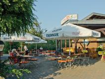 Biergarten des Bistros © Campingpark Kerstgenshof
