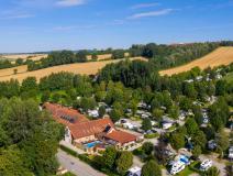Luftansicht Kur- & Feriencamping Dreiquellenbad