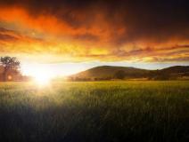 Die Sonne im Lahntal