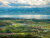 Luftaufnahme Wirthshof Bodensee