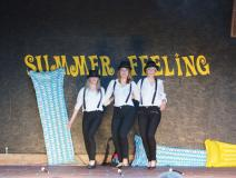 Sommershow auf der Bühne
